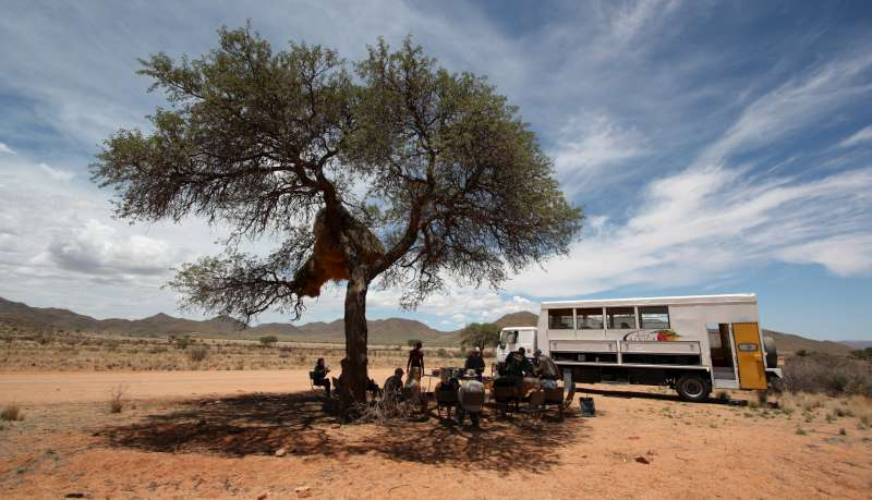 Namibia Lunch Stop