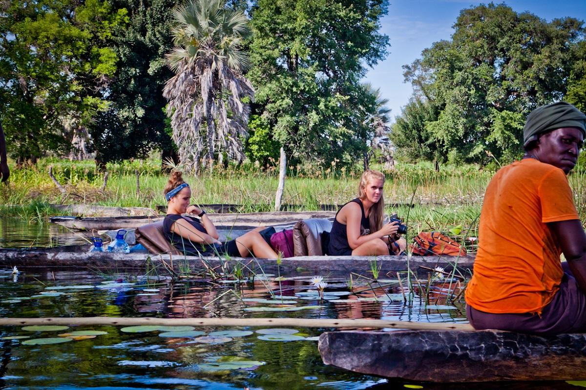 Take a trip into the Okavango Delta with Acacia Small Groups