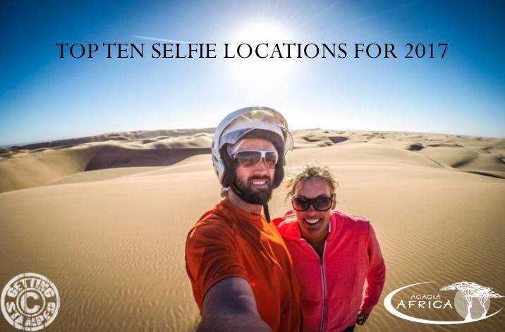 Top Ten Selfie Locations For 2017