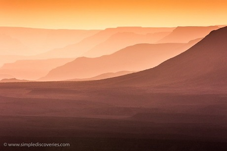 The grand splendor of Namibia's Fish River Canyon; among one of the world's largest canyons.