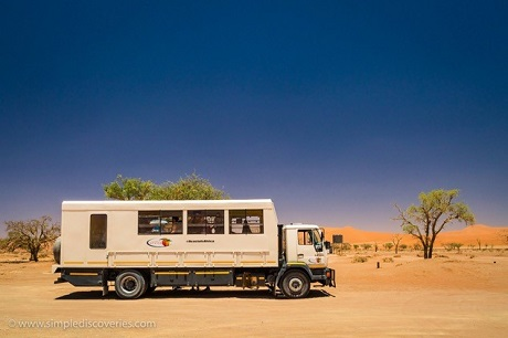 Our overland vehicle Rufunsa served as our ticket to exploring Africa.