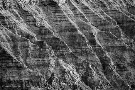 The layered canyon walls tell a detailed geologic story.