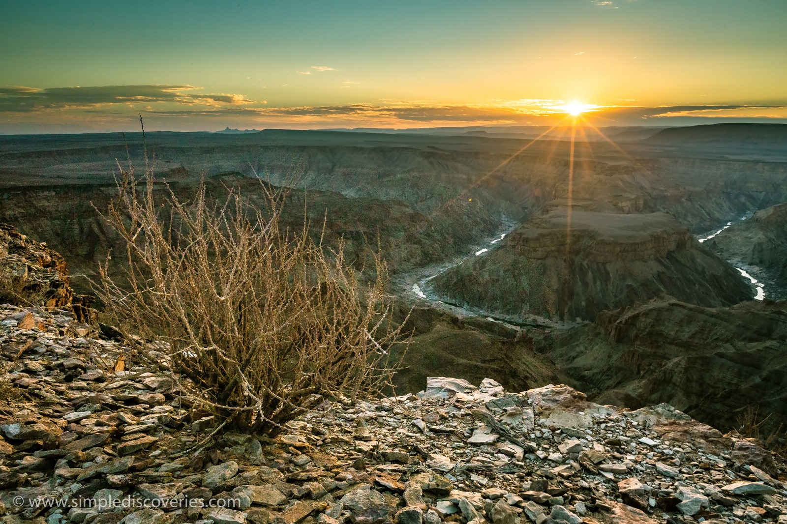 Namibia's Fish River Canyon!