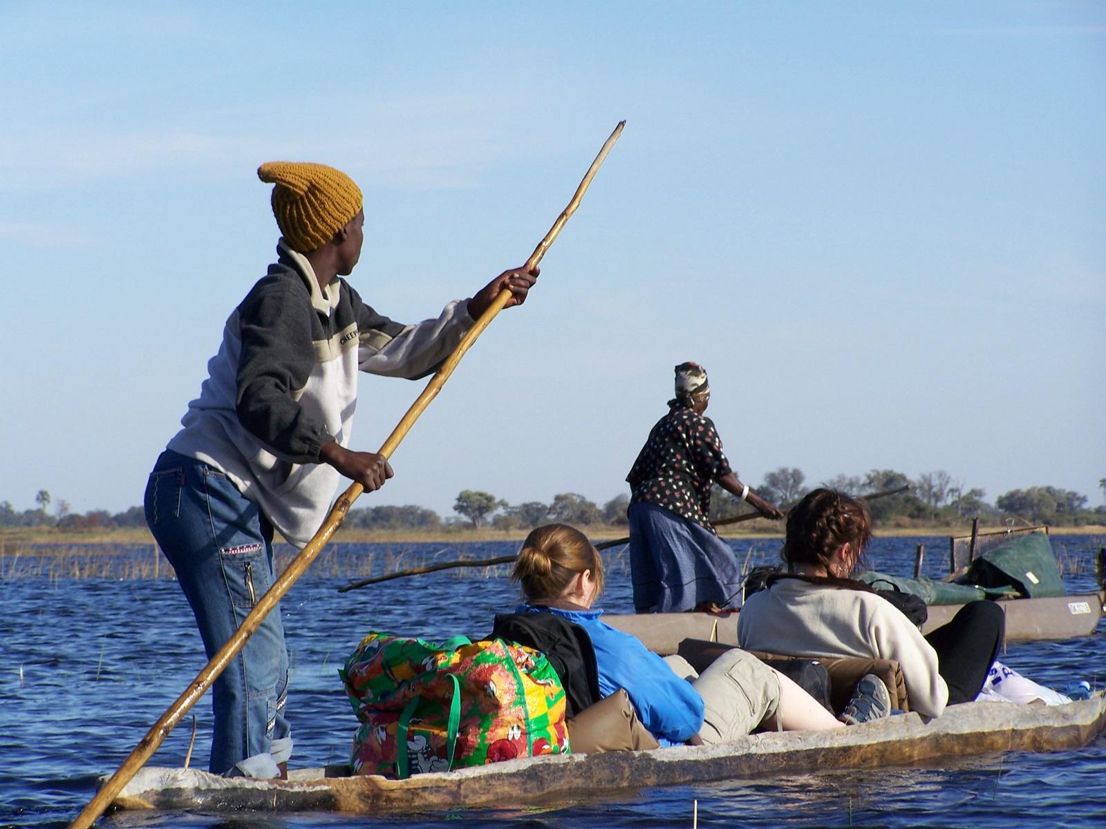 The watery ways of the Okavango Delta