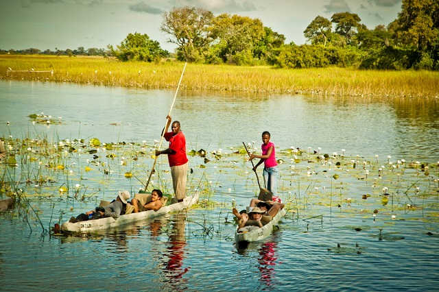 Africa overland safaris Botswana