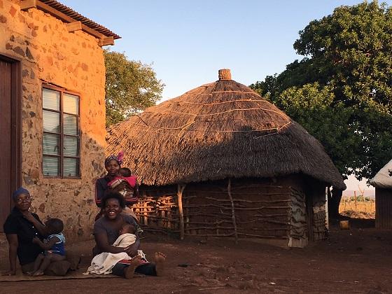 Swaziland village