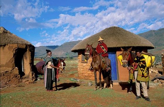 Art - Di Jones, Lesotho