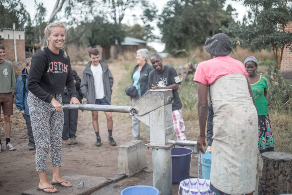 How to be a humanitarian while travelling on tour in Africa. Acacia is Purpose