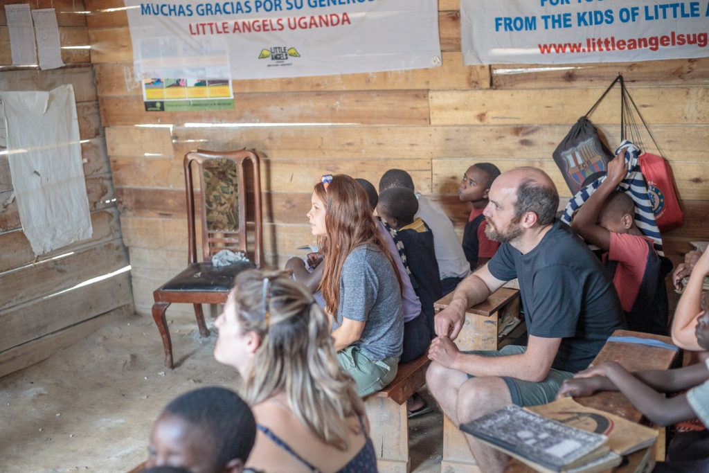 How to be a humanitarian while travelling on tour in Africa. Acacia is Purpose - Little Angels