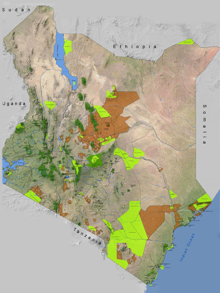 6,360.000 Hectares of Land - Why is Kenya more famous than most other African countries?