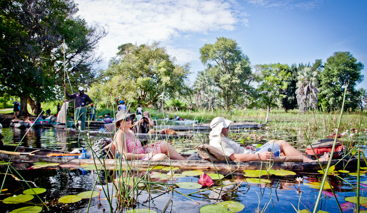 botswana okavango delta chobe national park
