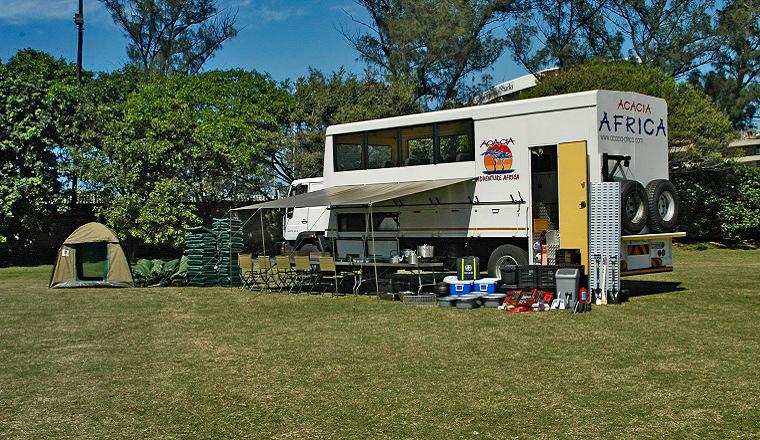 Overland Safari Camping Tours - Africa Truck Safari